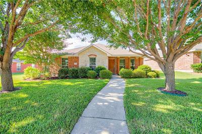 Allen Single Family Home For Sale: 1606 Tanglewood Drive