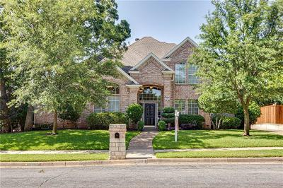 Keller Single Family Home Active Option Contract: 920 Rush Creek Road