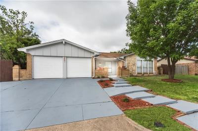 Grand Prairie Single Family Home For Sale: 2425 Wilmer Drive