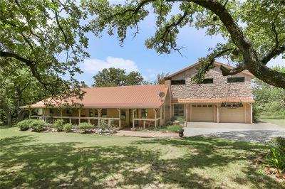 Archer County, Baylor County, Clay County, Jack County, Throckmorton County, Wichita County, Wise County Single Family Home For Sale: 268 County Road 4372
