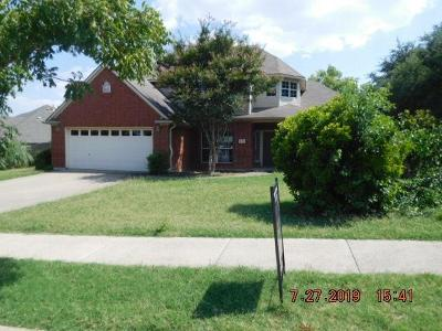 Keller Single Family Home For Sale: 626 W Park Drive