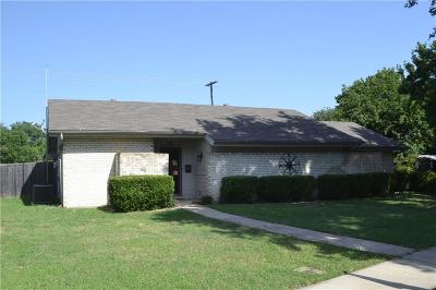 Lewisville Single Family Home Active Option Contract: 126 Laguna Bay