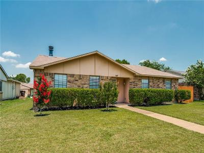 Single Family Home Active Option Contract: 917 Longhorn Drive