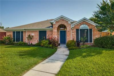 Allen Single Family Home Active Option Contract: 13 Heritage Woods Place
