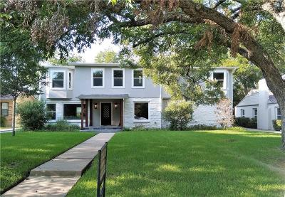 Fort Worth Single Family Home For Sale: 3712 W Biddison Street