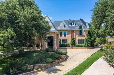 Colleyville Single Family Home For Sale: 2604 Meandering Court