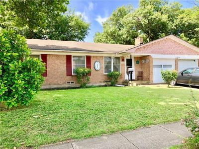 Plano Single Family Home Active Option Contract: 1716 17th Street