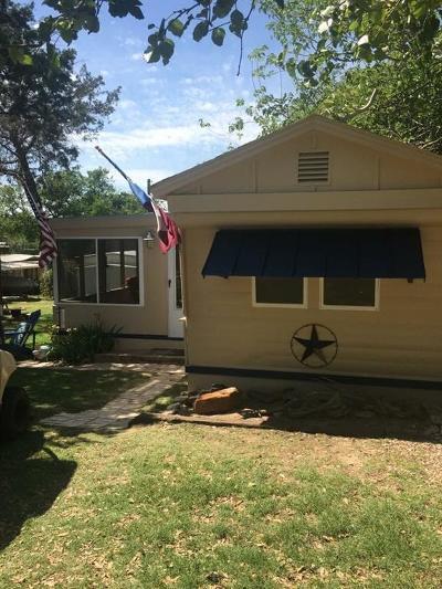 Possum Kingdom Lake TX Single Family Home For Sale: $33,500
