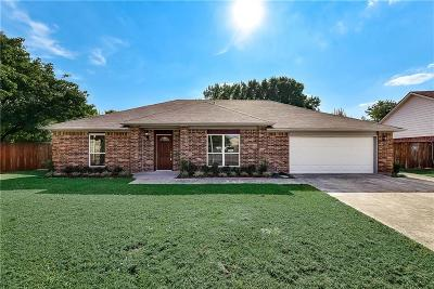 Rowlett Single Family Home For Sale: 3114 Hillcrest Drive
