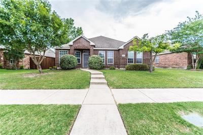Allen Single Family Home Active Option Contract: 1554 Charleston Drive