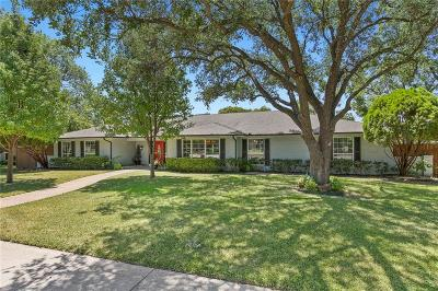Dallas Single Family Home For Sale: 6848 Heatherknoll Drive