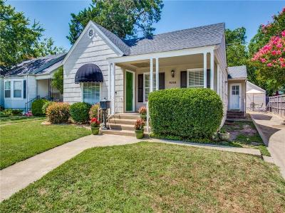 Arlington Heights Single Family Home For Sale: 4316 Calmont Avenue