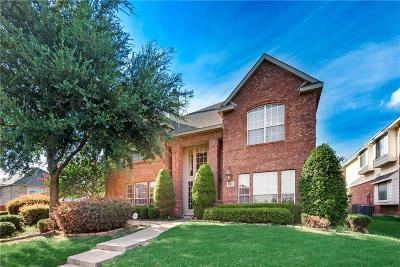 Allen Single Family Home For Sale: 1807 Lake Whitney Lane