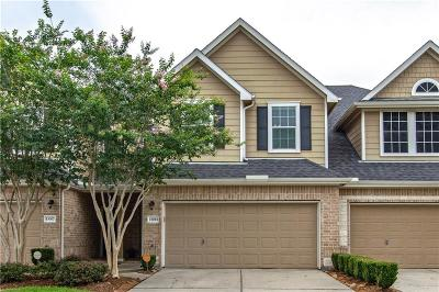 Galveston County, Harris County Townhouse Active Option Contract: 13011 Iris Garden Lane