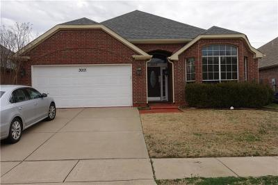 Euless Residential Lease For Lease: 3013 Scotch Elm Street