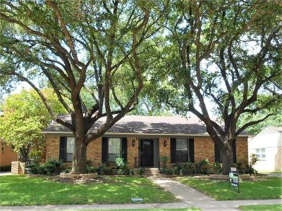 Richardson Single Family Home For Sale: 612 Parkview Lane