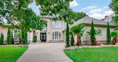 Plano Single Family Home Active Option Contract: 5105 Malvern Drive