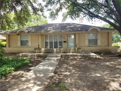 Irving Single Family Home For Sale: 3601 Swallow Lane