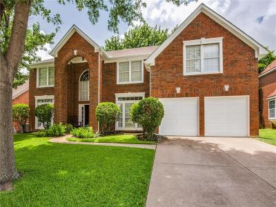Grapevine Single Family Home Active Option Contract: 5310 Cambridge Court