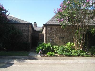 Carrollton Townhouse For Sale: 3106 Stonehenge Lane