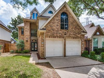 Addison Single Family Home Active Option Contract: 3843 Canot Lane