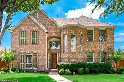 Plano Single Family Home Active Contingent: 8517 Bradford Drive