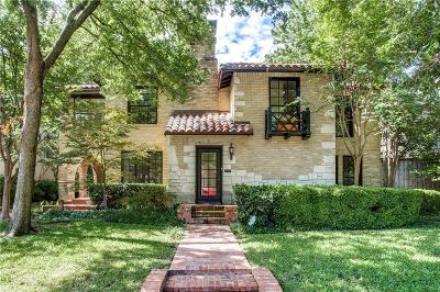 Highland Park Residential Lease For Lease: 4521 Fairway