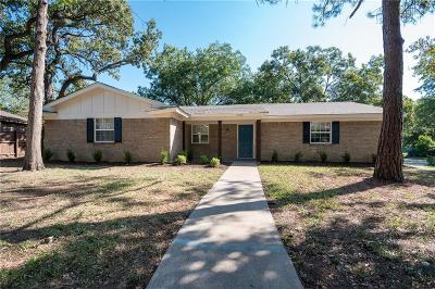 Hurst Single Family Home Active Option Contract: 1000 Barbara Ann Drive