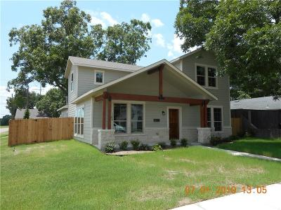 Garland Single Family Home For Sale: 804 W Avenue E