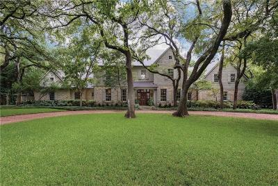 Dallas County Single Family Home For Sale: 4709 Bluffview Boulevard