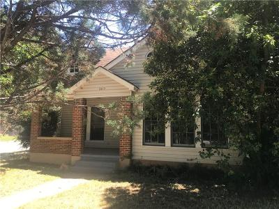 Brownwood Single Family Home For Sale: 1815 Vincent Street
