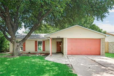 The Colony Single Family Home For Sale: 5236 Strickland Avenue
