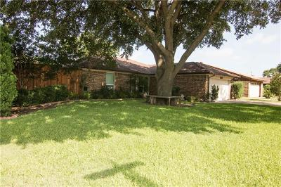 North Richland Hills Single Family Home Active Option Contract: 5101 Abby Road