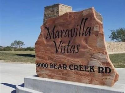 Parker County Residential Lots & Land For Sale: 116 Maravilla Drive
