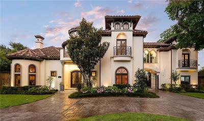 Dallas County Single Family Home For Sale: 6010 Lakehurst
