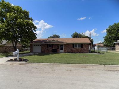 Brownwood Single Family Home Active Option Contract: 3806 Countryside Drive