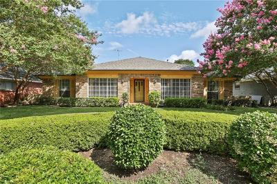 Lake Highlands Single Family Home Active Option Contract: 7155 Cosgrove Drive
