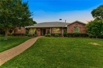 Richardson Single Family Home Active Option Contract: 2407 Blue Cypress Drive
