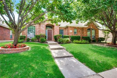 Allen Single Family Home Active Option Contract: 818 Water Oak Drive