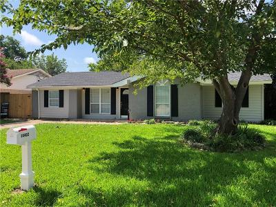 Balch Springs Single Family Home For Sale: 14402 Cimarron Drive