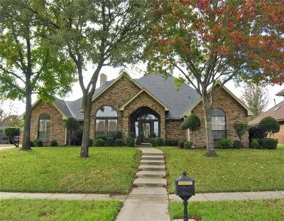 Euless Single Family Home For Sale: 709 Trail Lake Drive