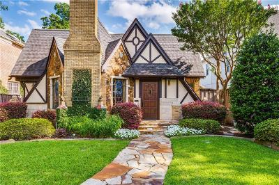 Dallas County Single Family Home Active Option Contract: 4141 San Carlos Drive