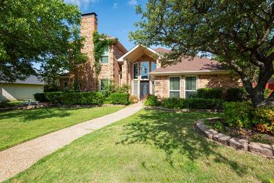 Carrollton Single Family Home For Sale: 4107 High Sierra Drive