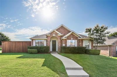 Frisco Single Family Home Active Option Contract: 7616 Sonoma Valley Drive