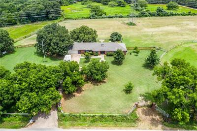 Kennedale Single Family Home Active Option Contract: 5675 Everman Kennedale Road