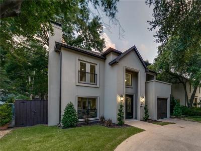 Highland Park Single Family Home For Sale: 4629 Mockingbird Lane