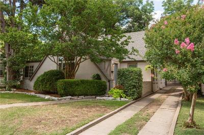 Arlington Heights Single Family Home For Sale: 3916 El Campo Avenue