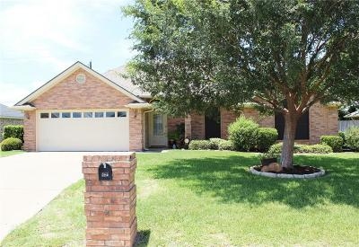 Stephenville Single Family Home Active Option Contract: 643 Bluebonnet Street