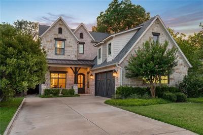 Dallas County Single Family Home For Sale: 4587 Elsby Avenue