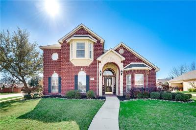 Coppell Single Family Home Active Option Contract: 117 Sunrise Drive